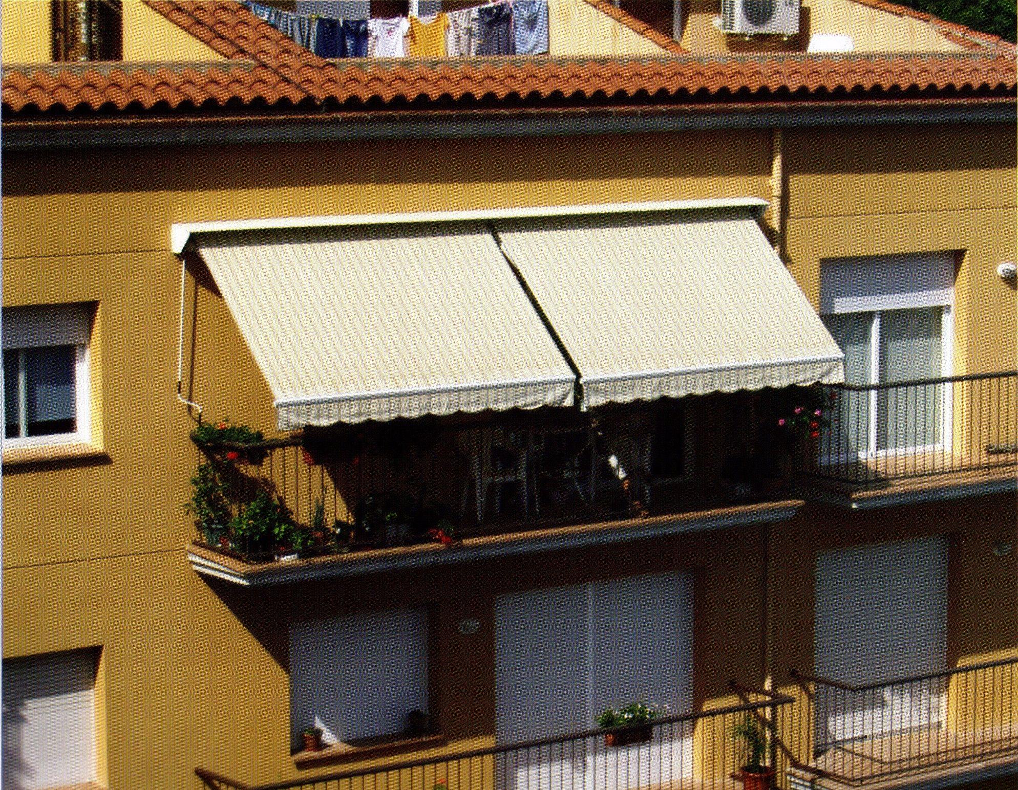 Toldos en balcones: Productos de Toldos Andueza