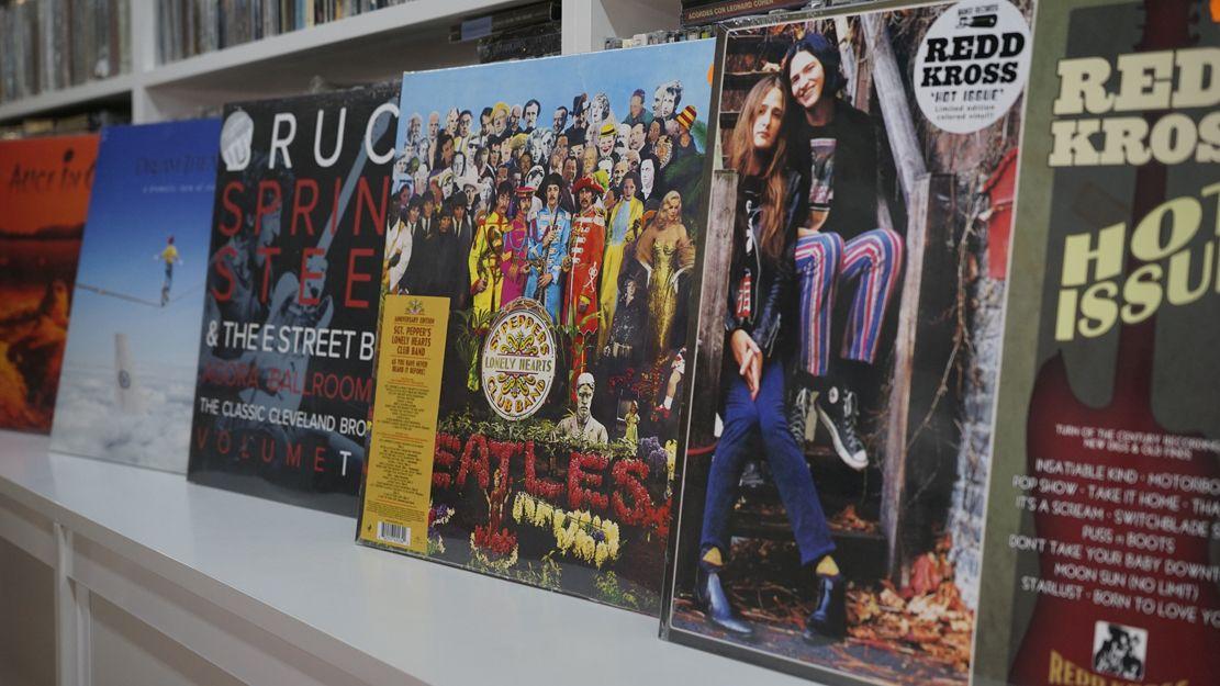 Venta de vinilos, CD, LP y DVD Murcia
