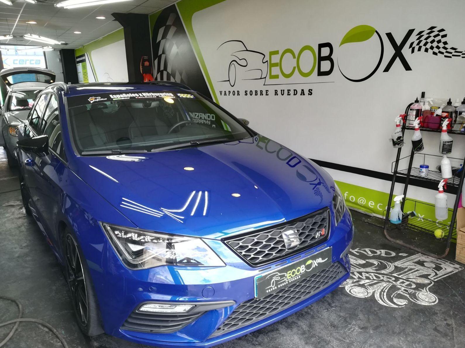 Tratamiento cerámico para coches en Madrid