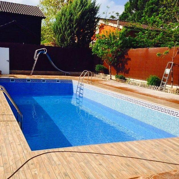 Construcci n de piscinas en hormig n gunitado productos y for Hormigon gunitado piscinas
