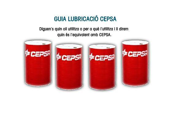Distribuidor de lubricantes Cepsa en Tarragona