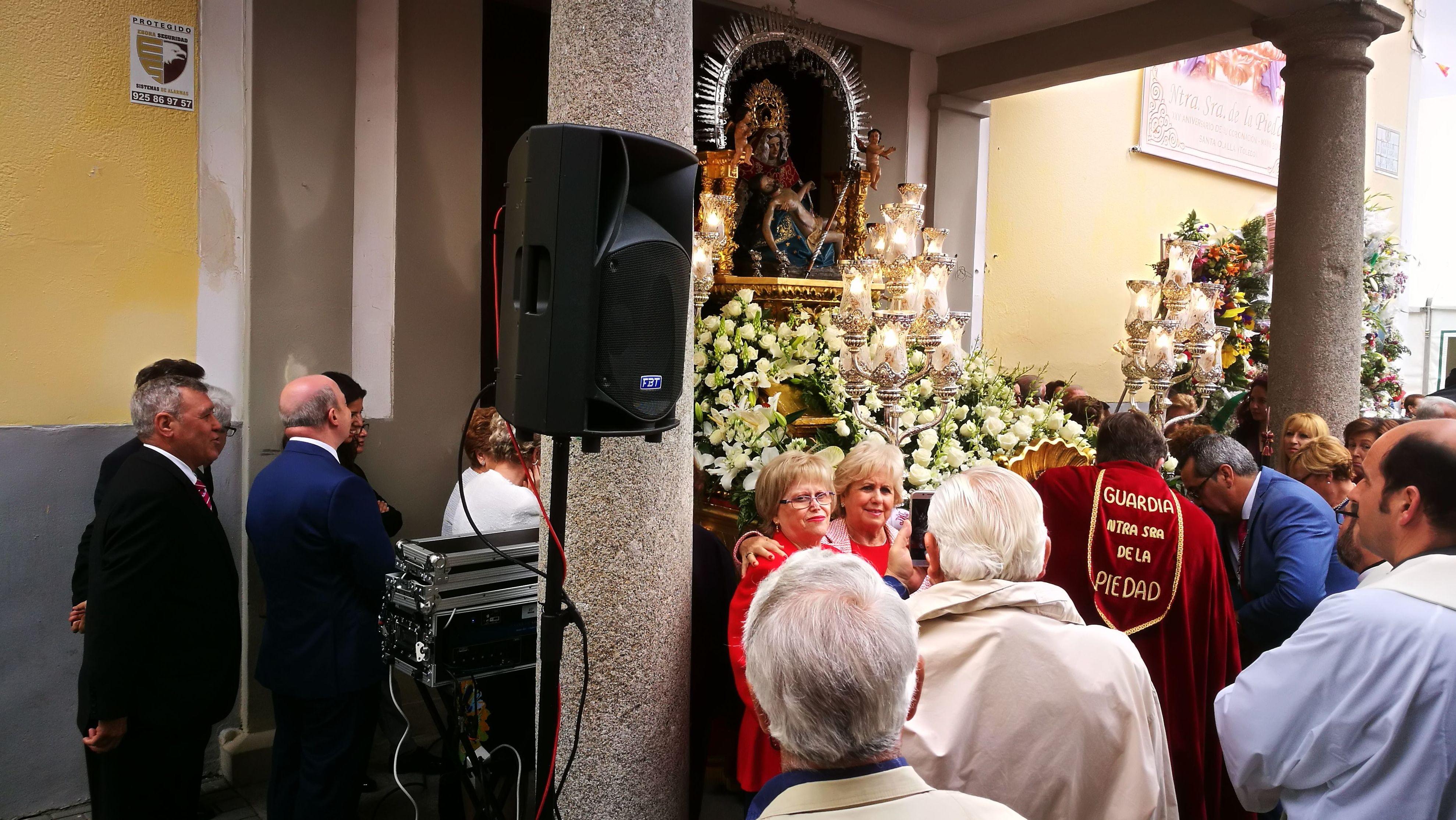 Sonorizacion de evento religioso