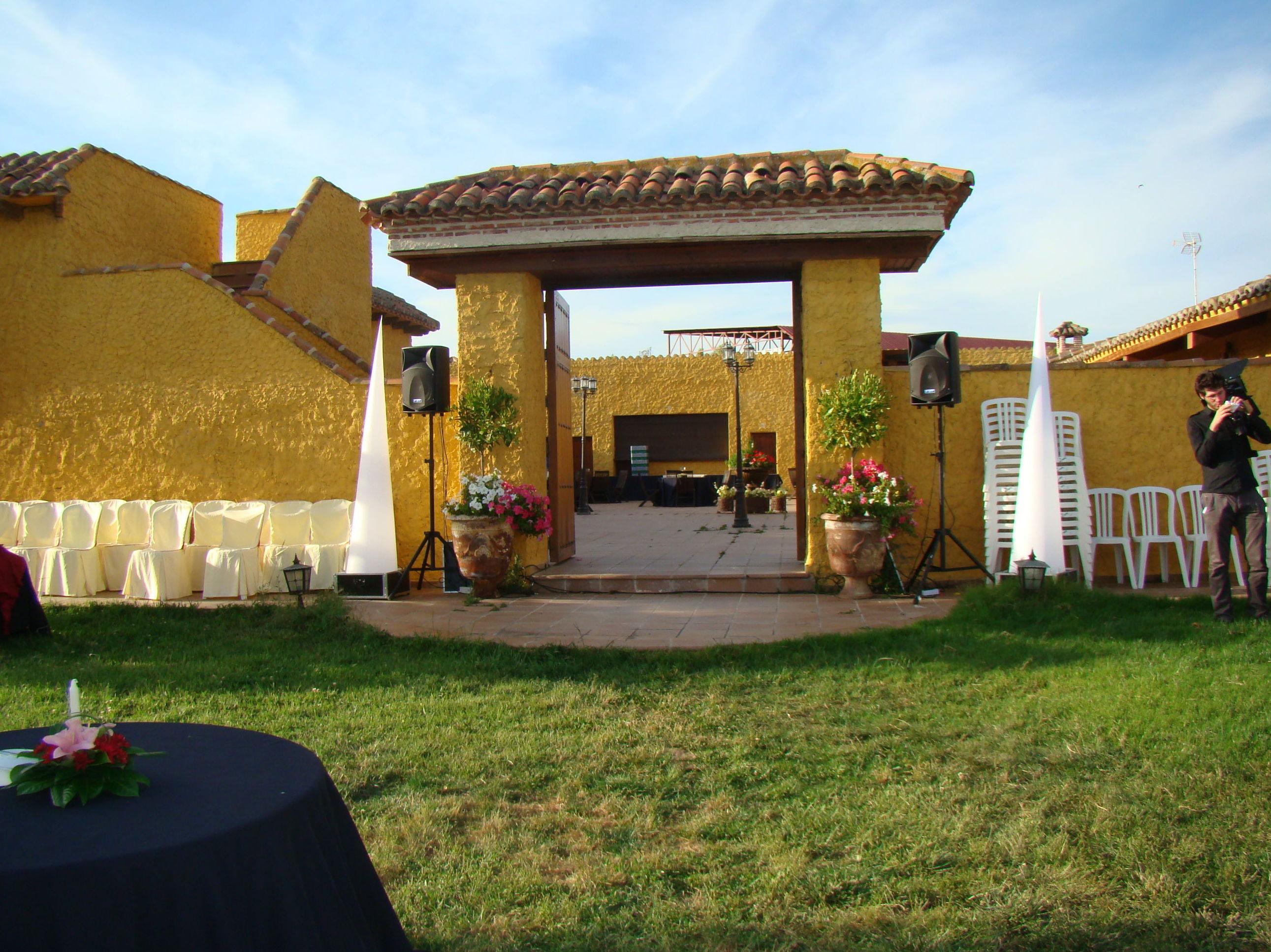 Sonorización de ceremonias