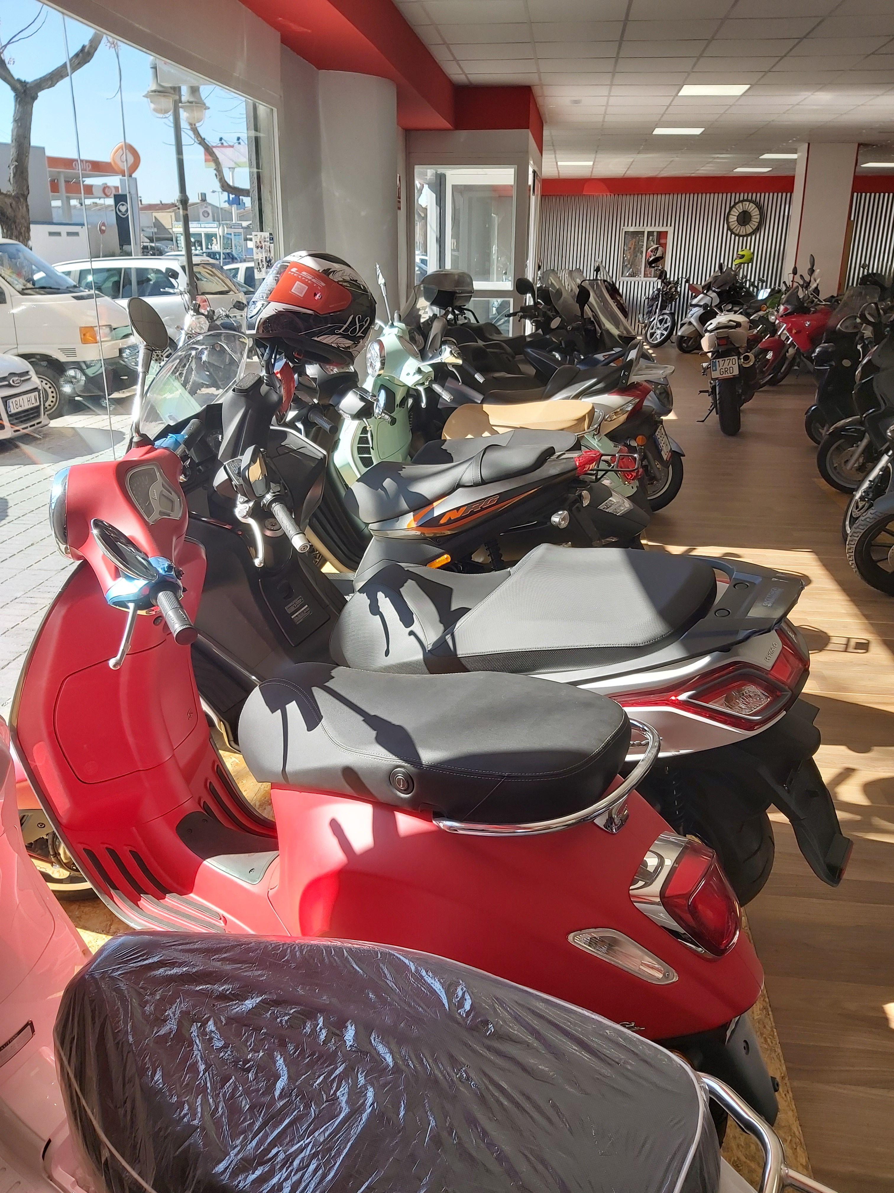 Venta de motos en Aldaia