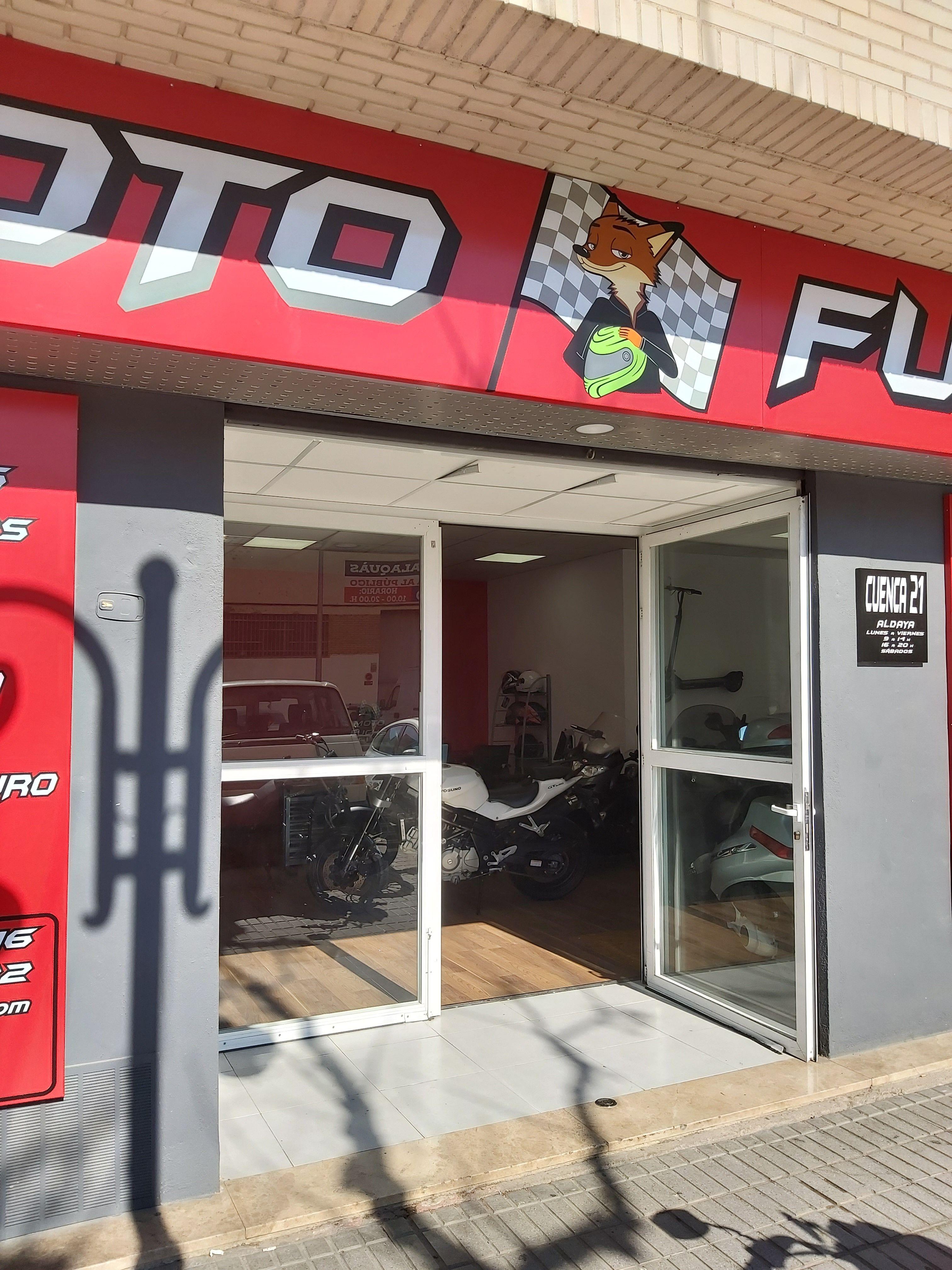 Taller de motos en Aldaia