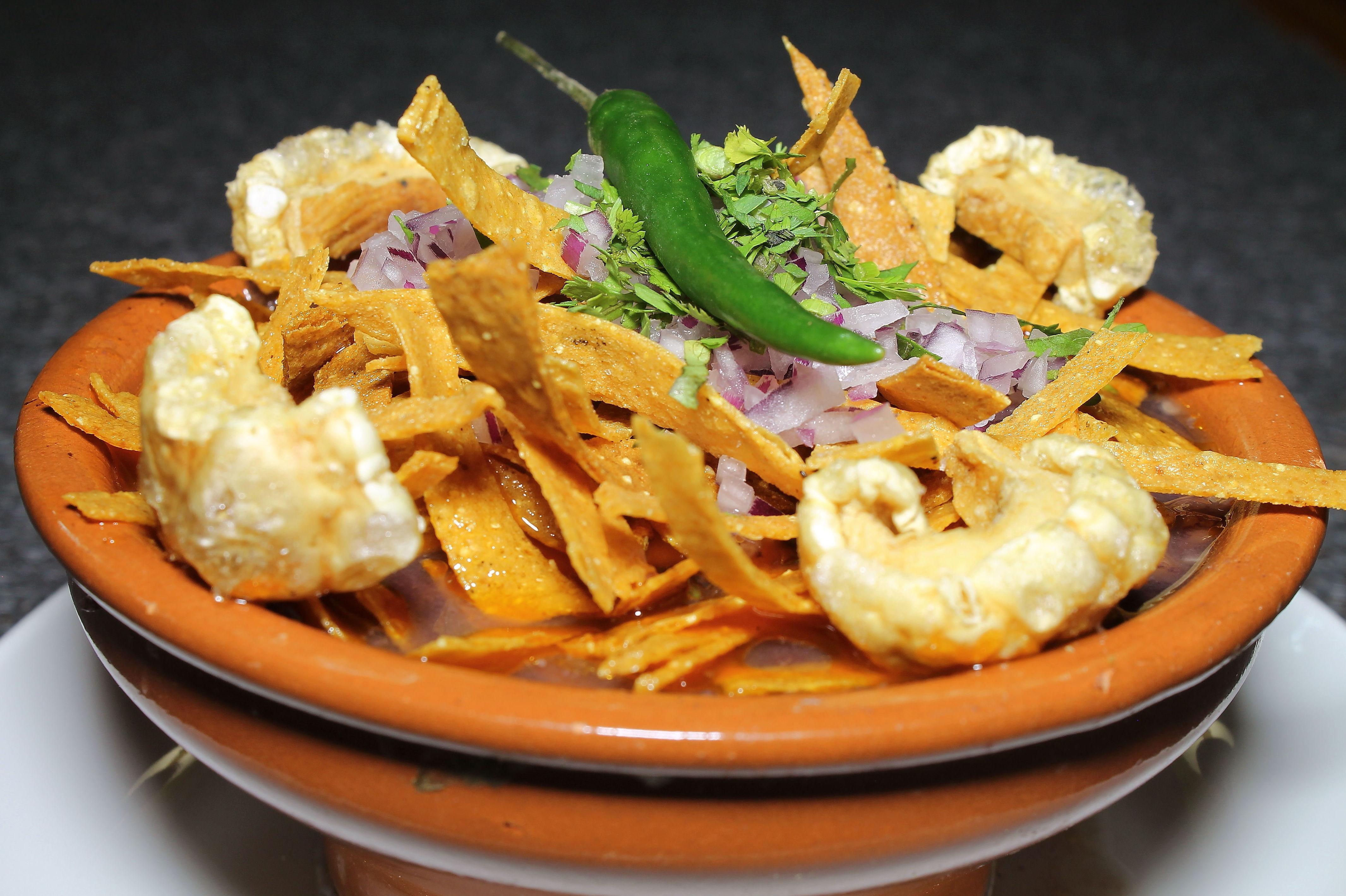 Platos de auténtica comida mexicana en el Restaurante Mezcal, Madrid