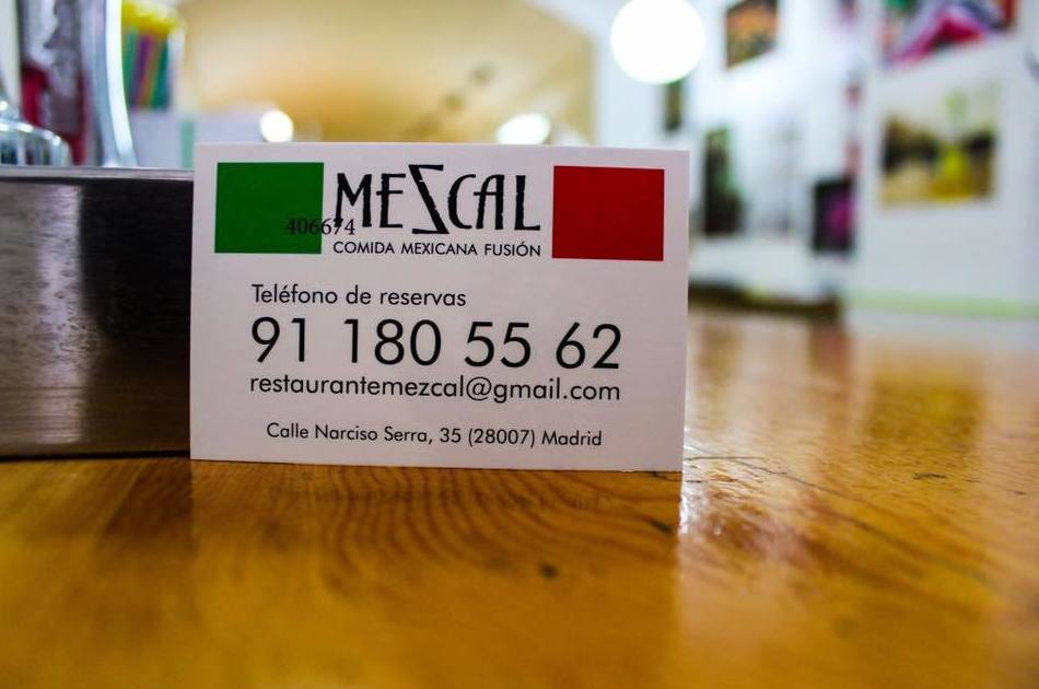 Auténtica comida mexicana, haz tu reserva