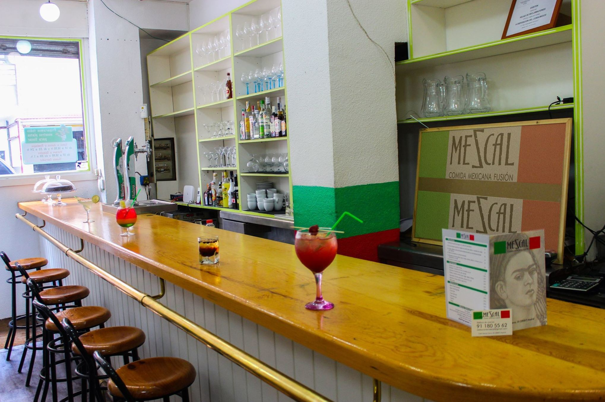 Excelentes cócteles en el centro de Madrid