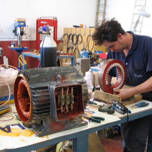 Maquinaria eléctrica: Servicios y Productos de Bobinados Las Quemadas S.C.A.