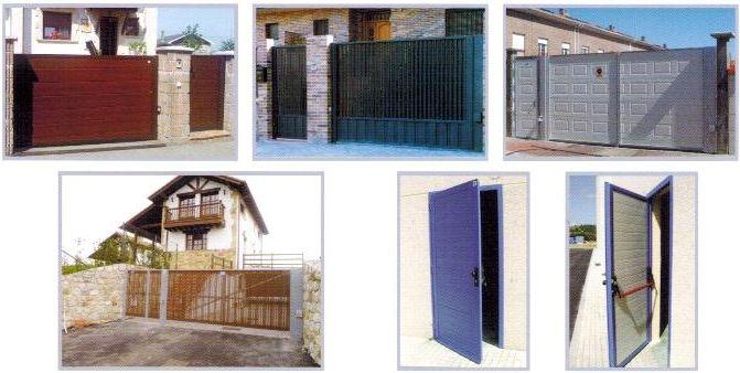 Puertas abatibles, industriales y residenciales: Servicios de Puertas Nueva Castilla Gipuzkoa