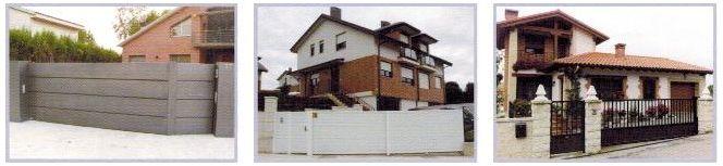 Puertas correderas puente para cierres residenciales: Servicios de Puertas Nueva Castilla Gipuzkoa