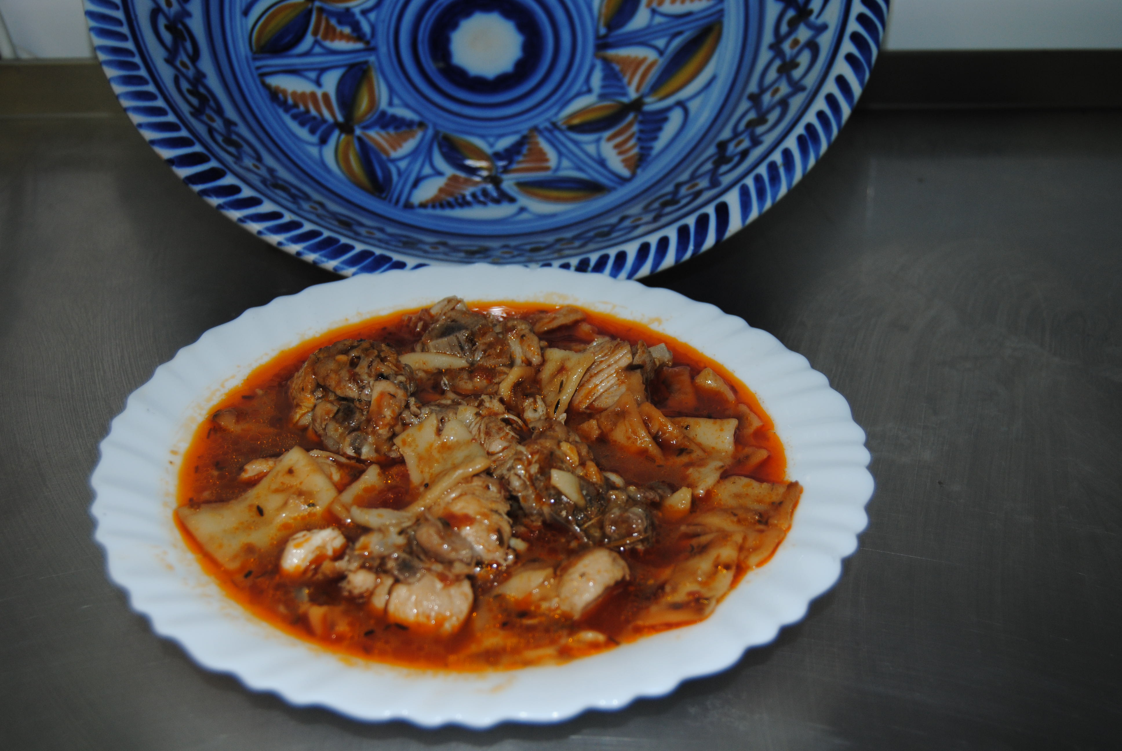 Gazpacho Manchego.