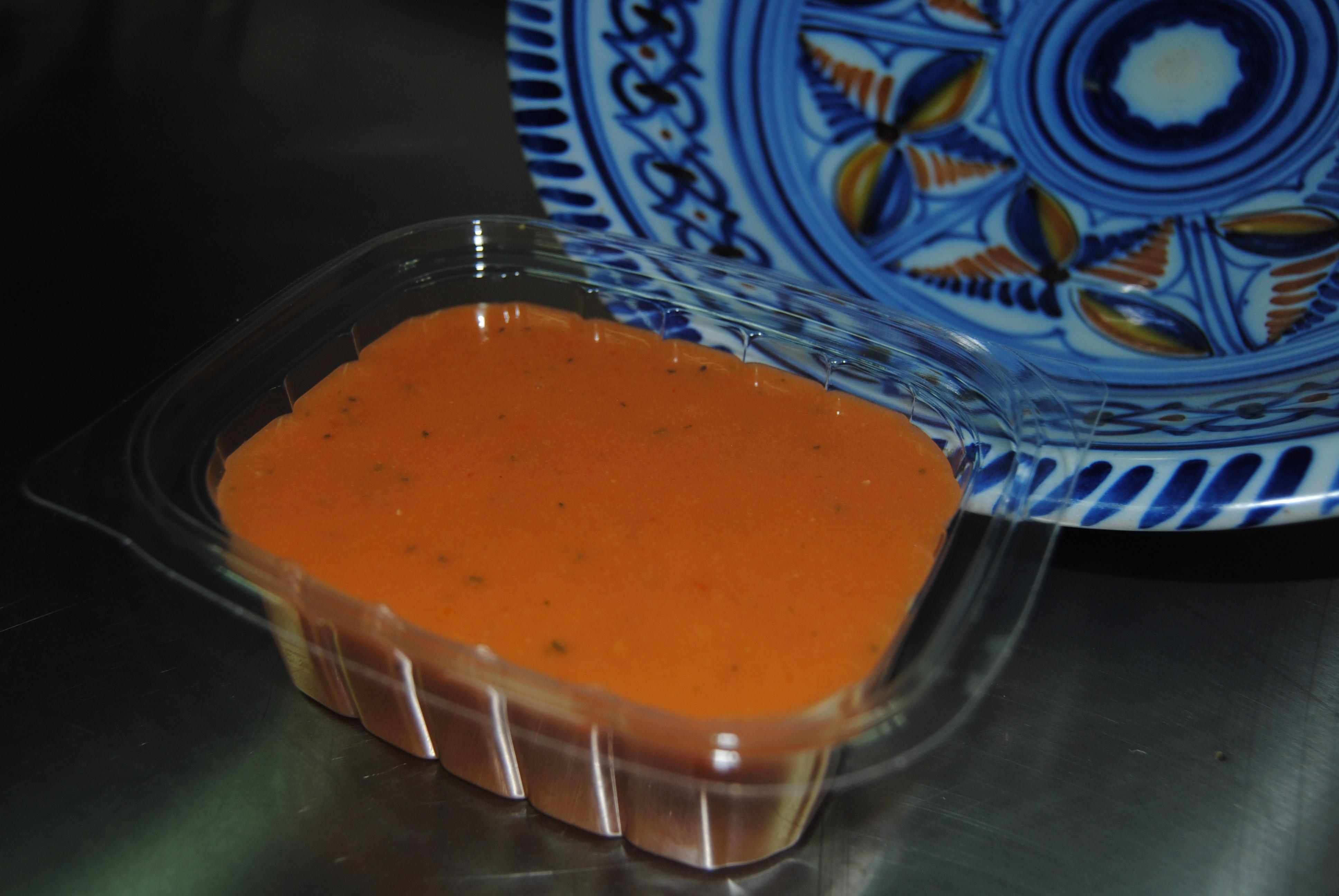 Gazpacho andaluz.