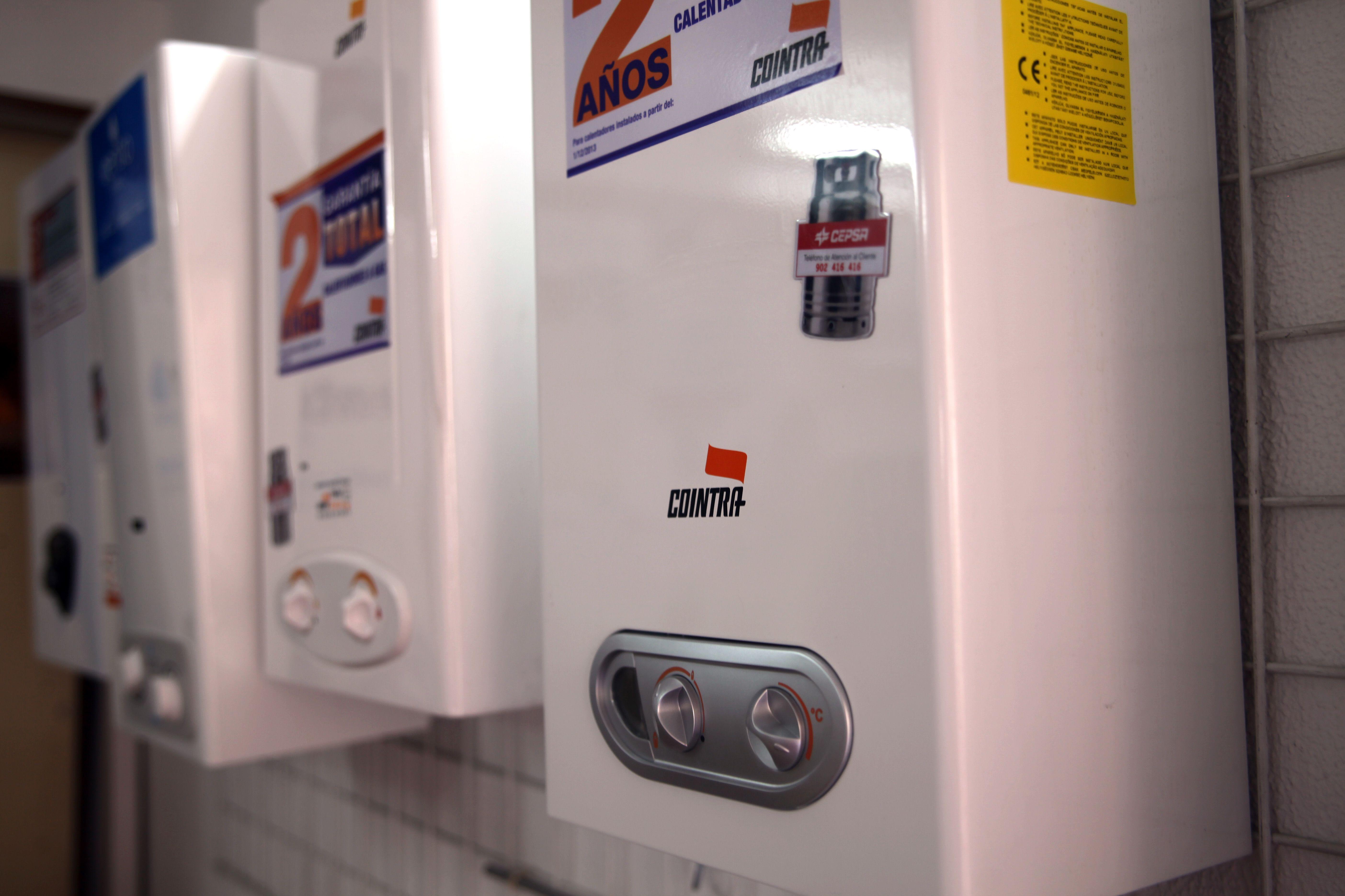 Venta e instalación de calderas de gas Cointra en Córdoba