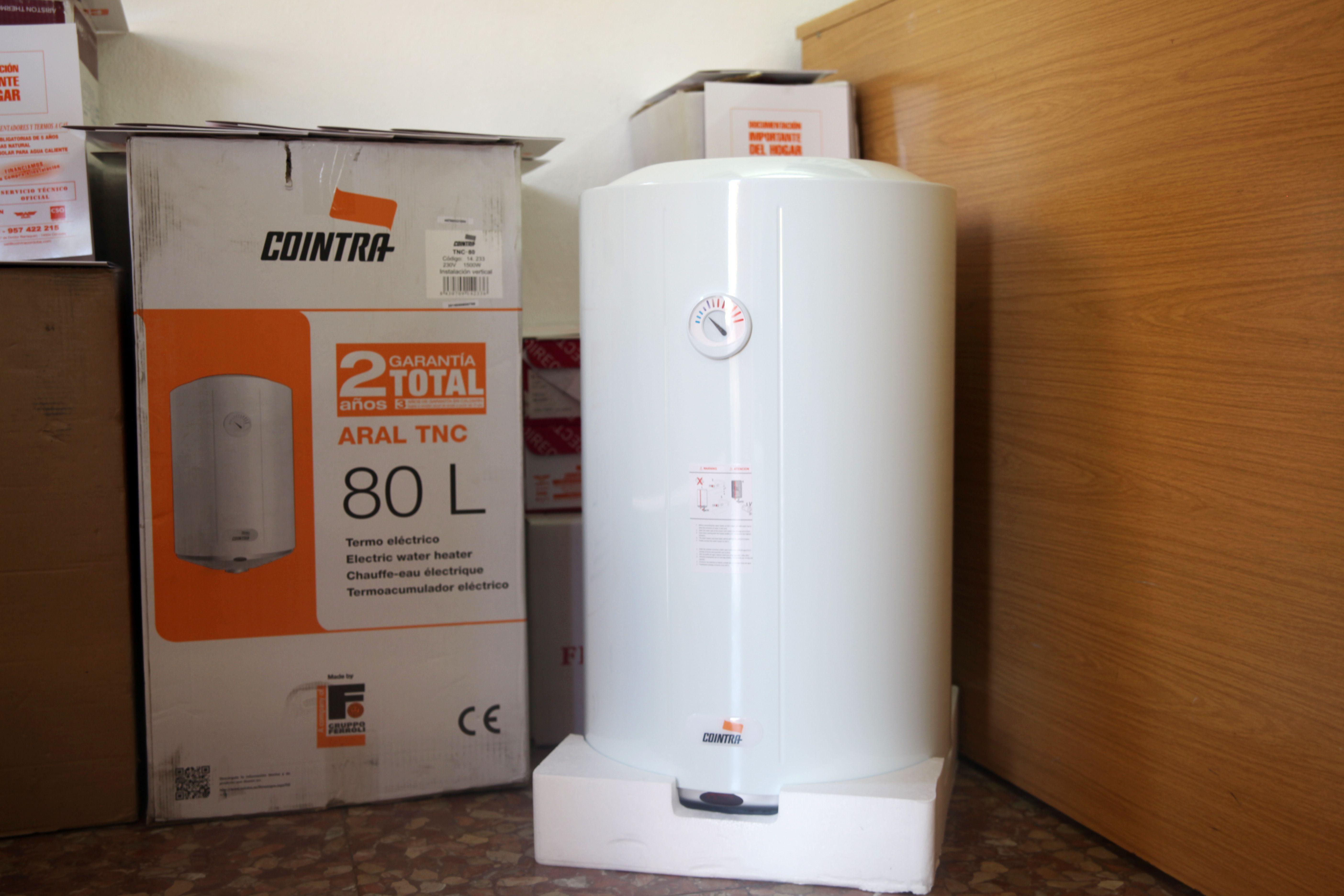 Instalación y reparación de termos de agua en Córdoba