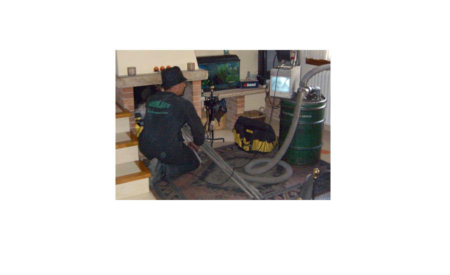 Limpieza de chimenea