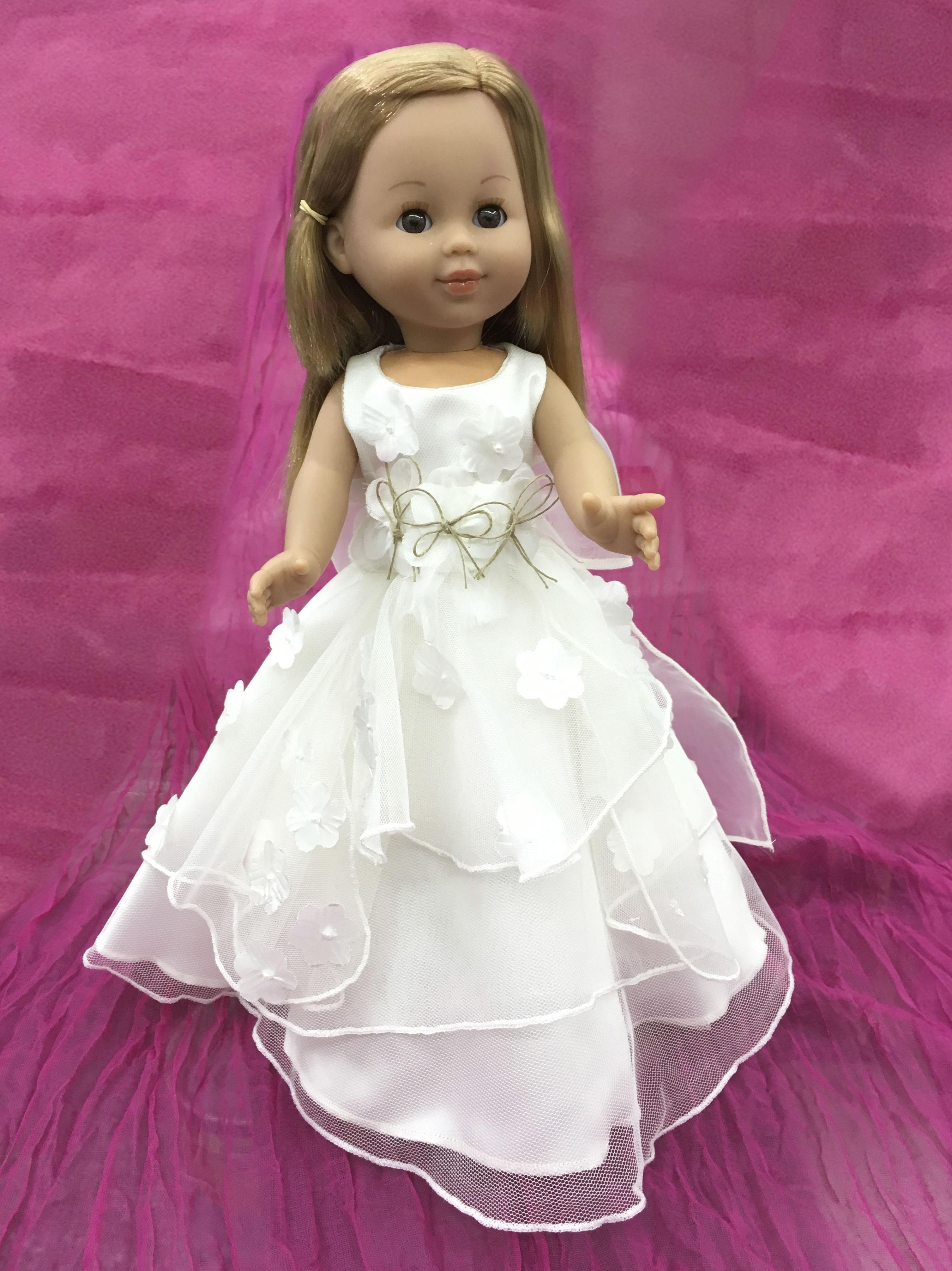 Muñecas de comunión: Vestidos y Trajes de Joan Lo