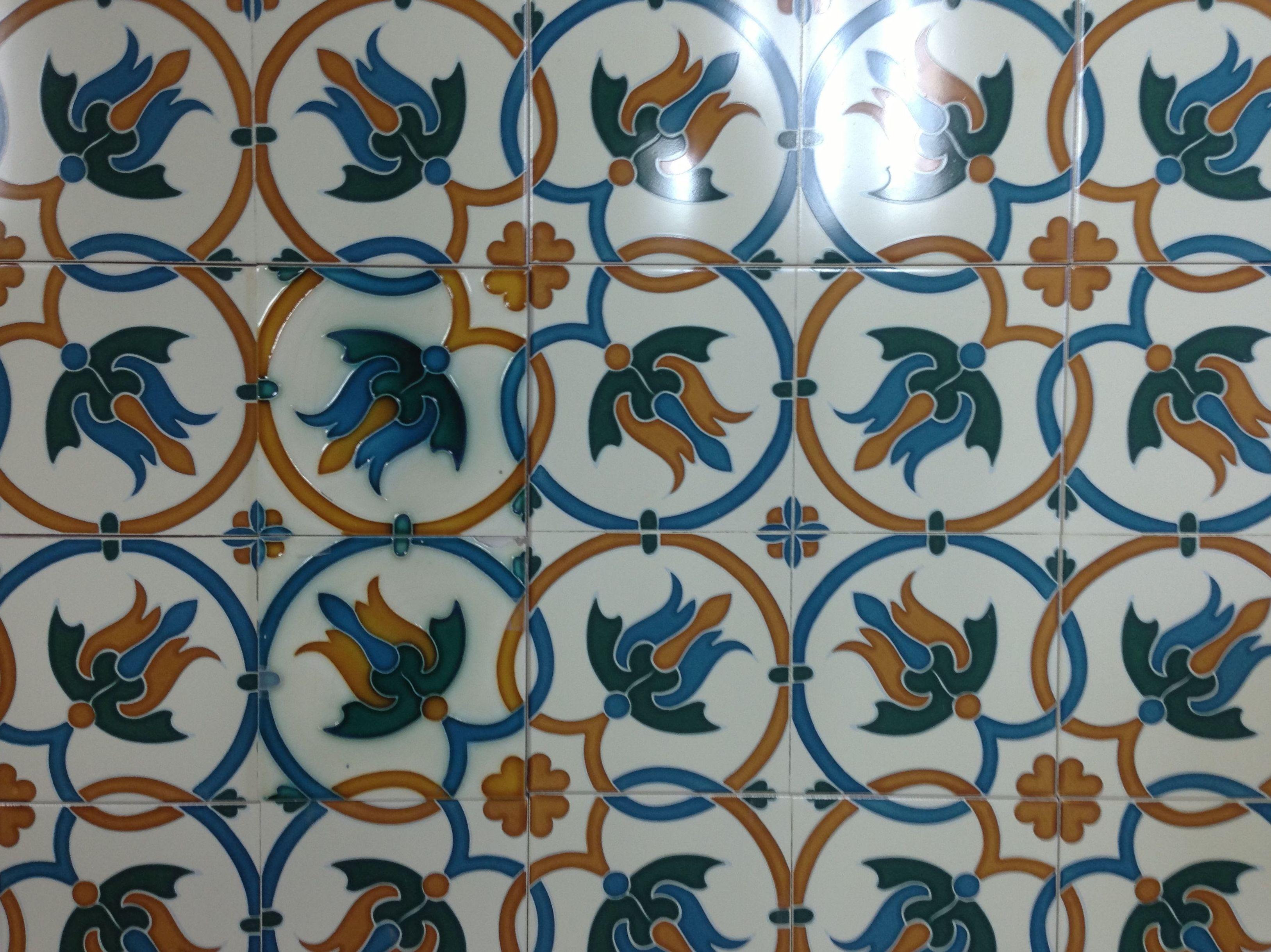 Azulejos en Portugalete