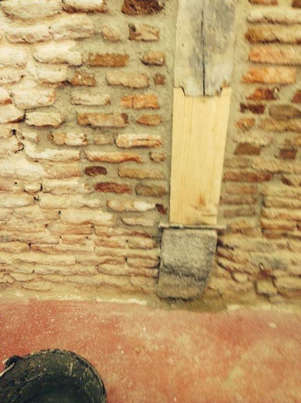 Apuntalamiento de edificios en Madrid