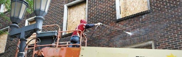 Tratamiento del ladrillo en fachada