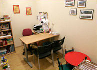 Sala de intervención psicopedagógica