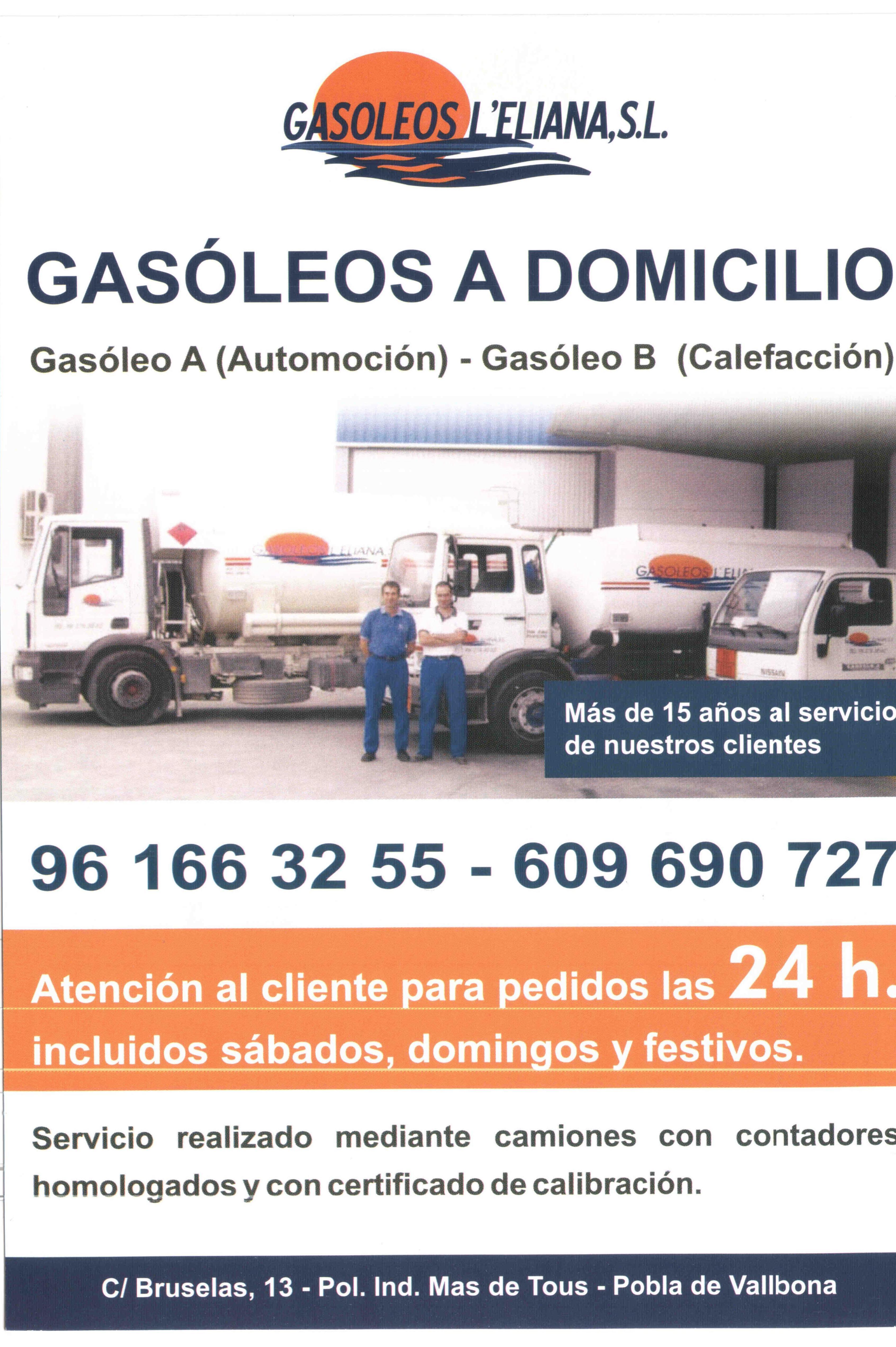 Foto 16 de Gasóleo en La Pobla de Vallbona | Gasóleos L'Eliana,S.L.