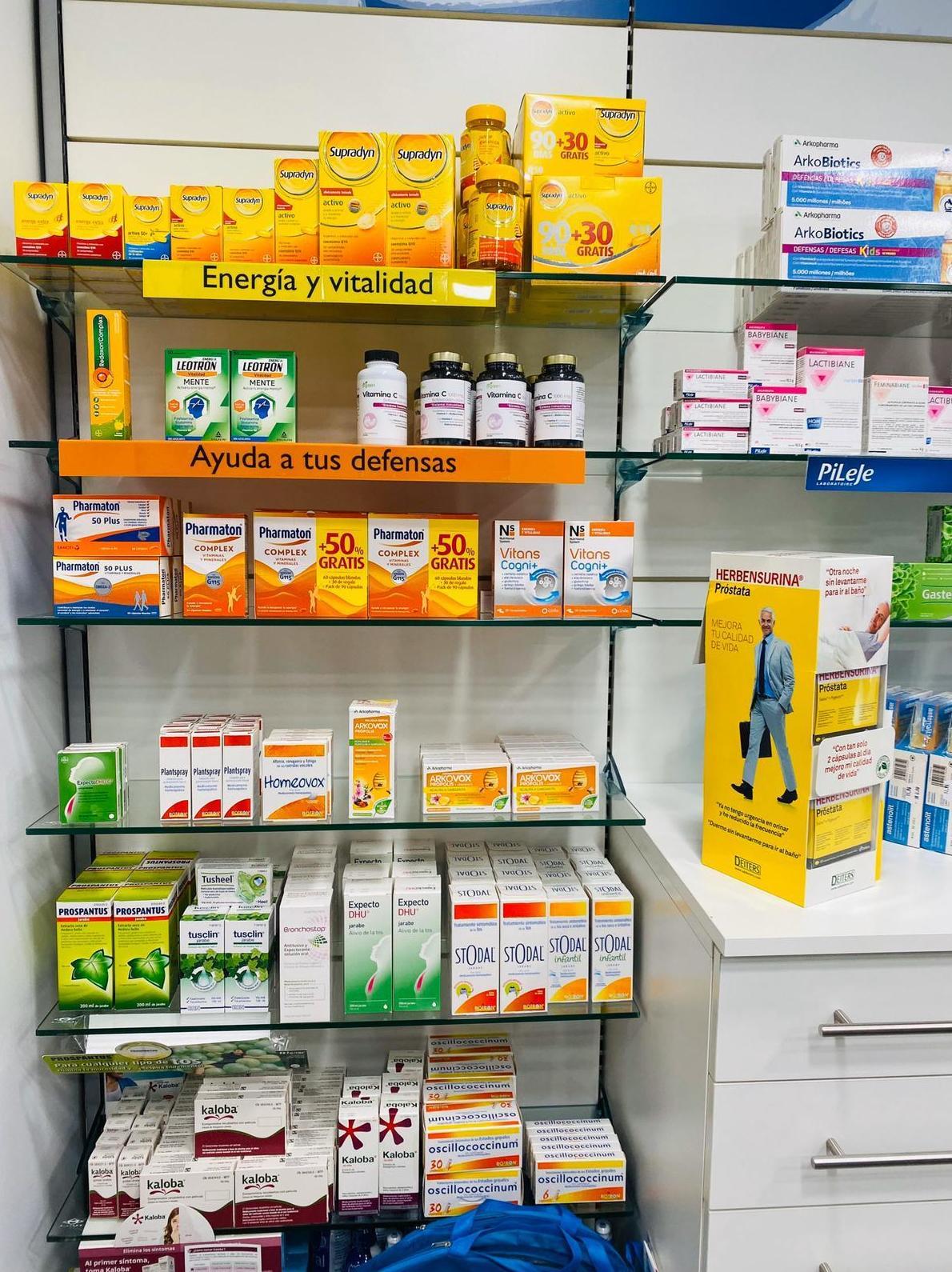 Dietètica adults: PRODUCTES EN ESTOC  de Farmacia Rosa Cinca | Guissona | 365 | 8.30-21