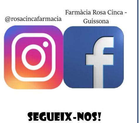 Segueix les nostres xarxes socials!