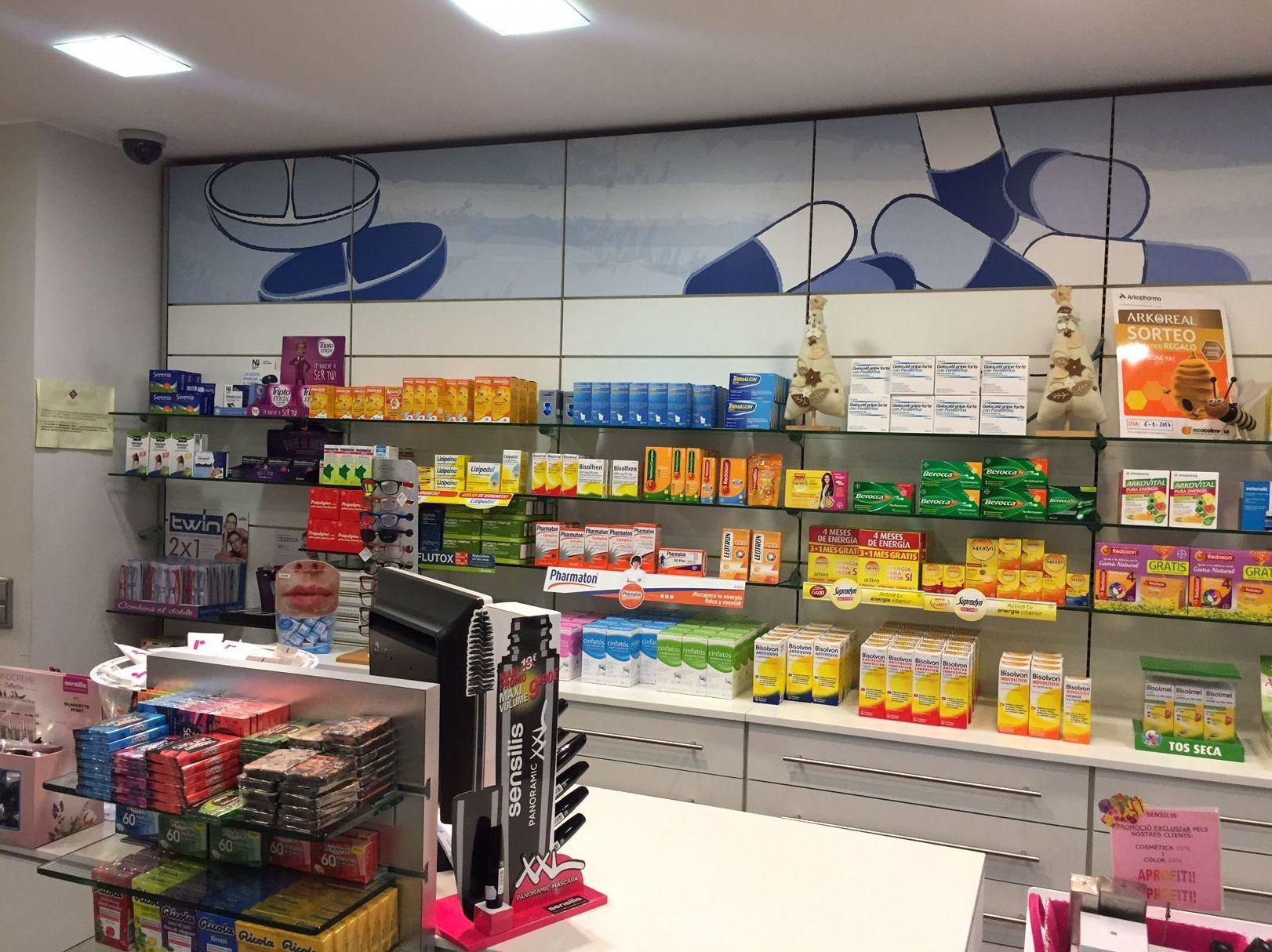 Interior de nuestra Farmacia Rosa Cinca