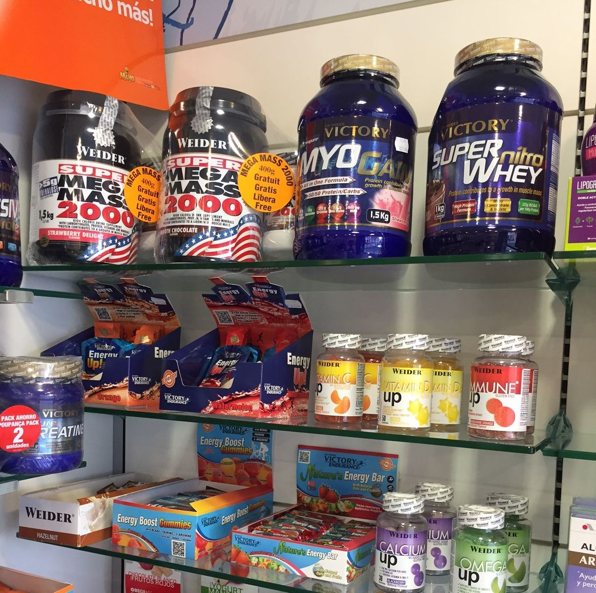 Dietética deportiva: Productos de Farmacia Rosa Cinca