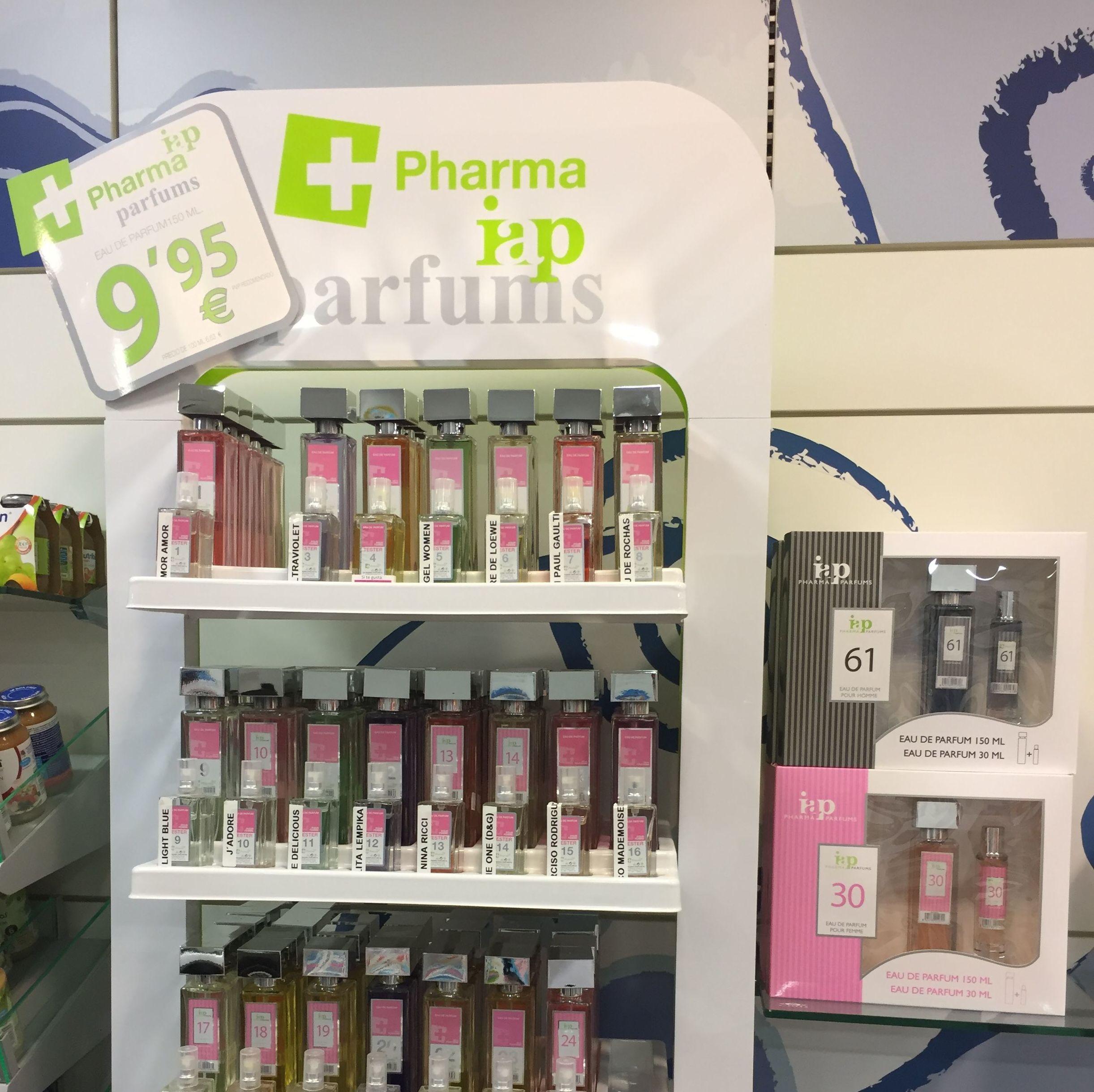Farmacia abierta los 365 días de 09:00 a 22:00 horas. Venta de perfumes