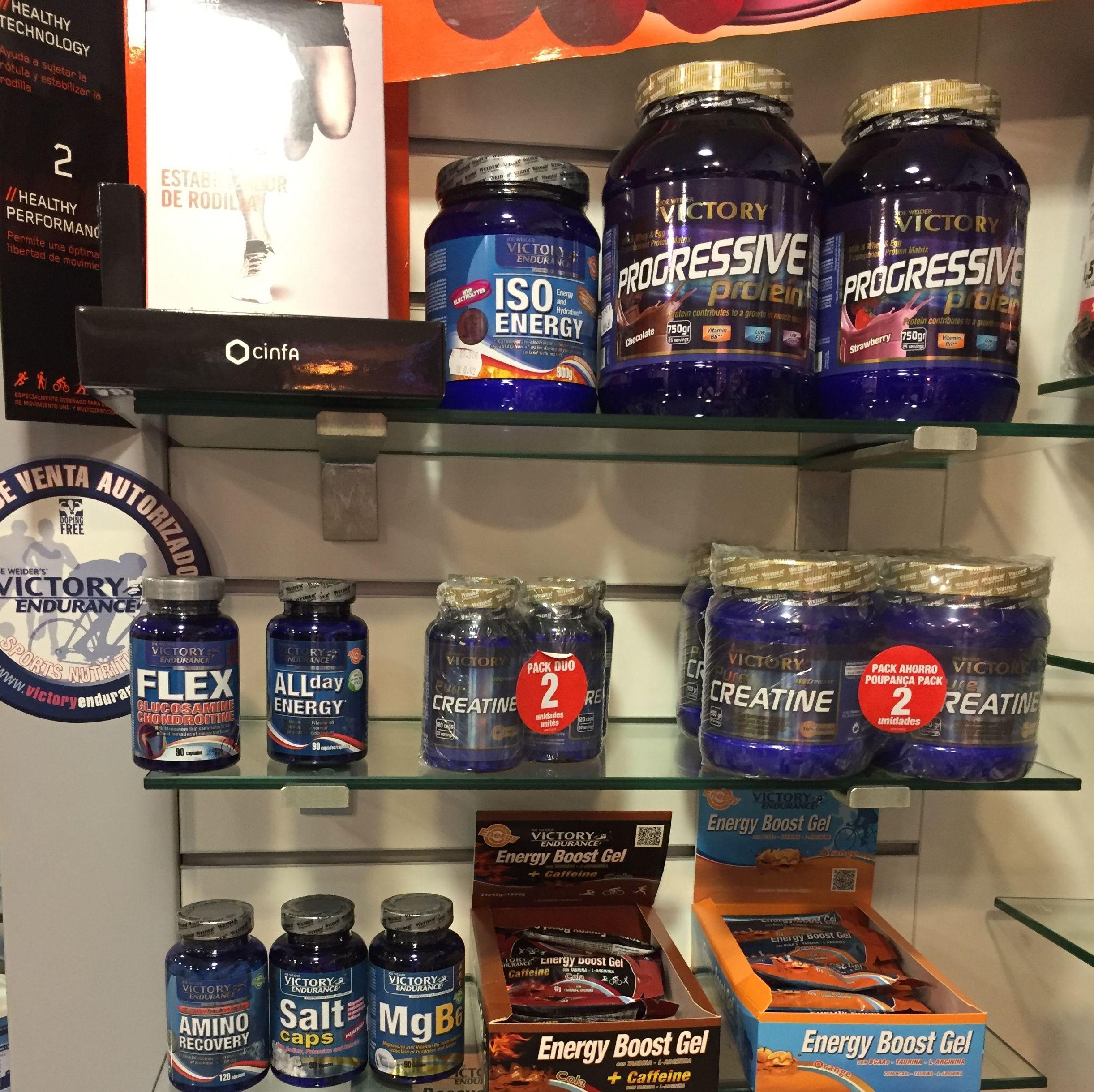 Complementos nutritivos para deportistas