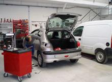 Otros servicios: Servicios de Planxa i Pintura Aulet Corney