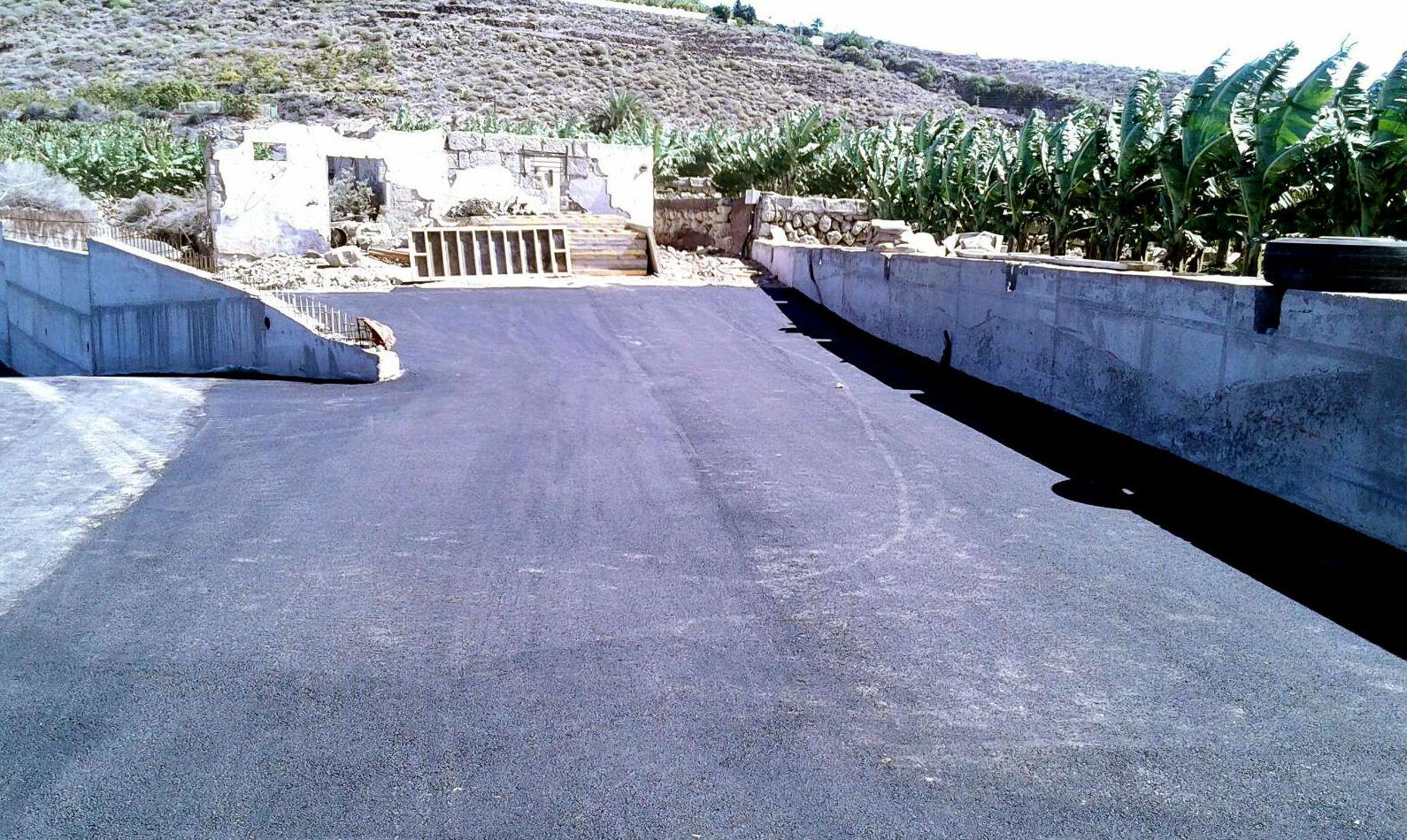 Empresas de asfaltos en Tenerife