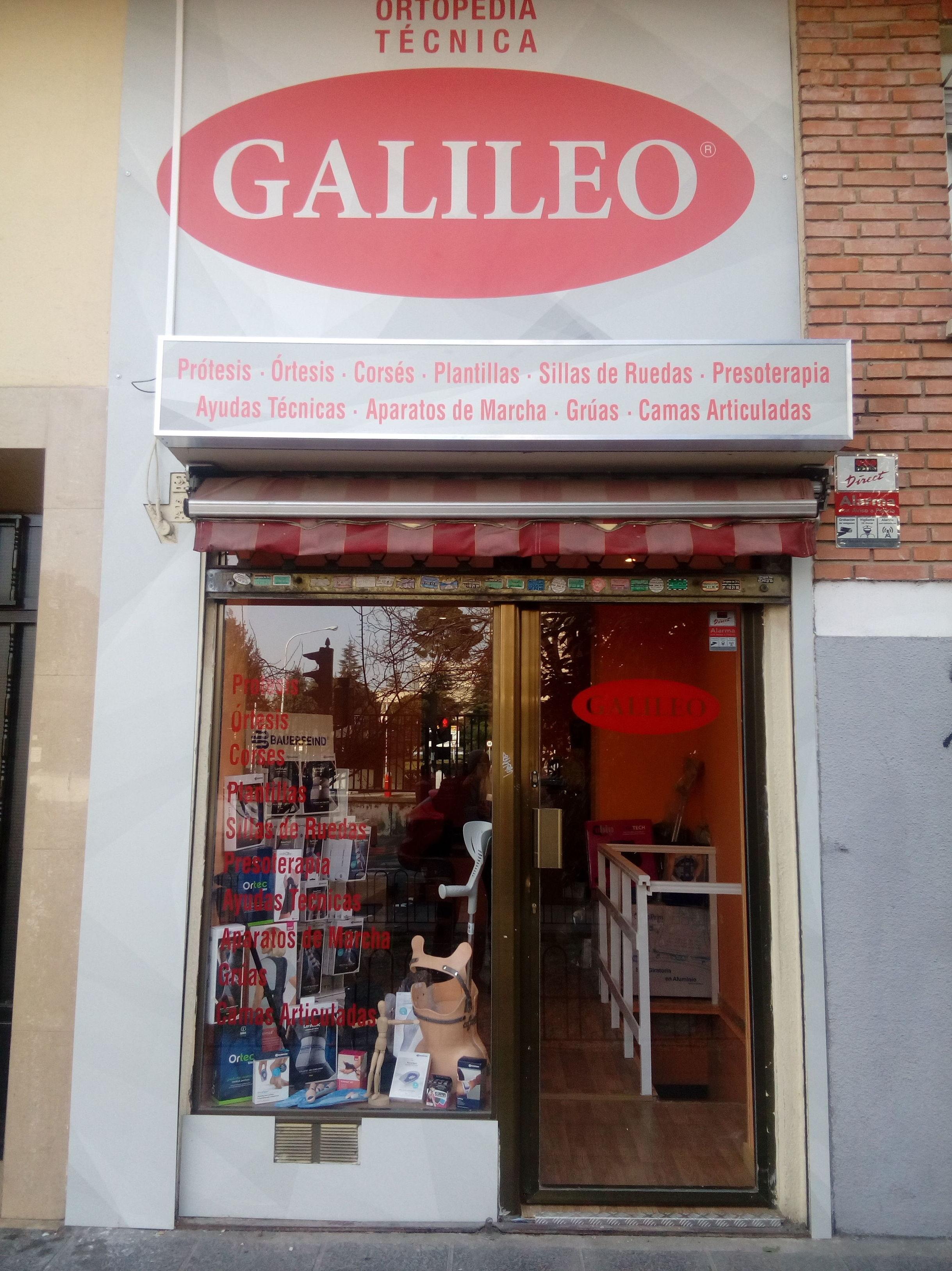 Ortopedia Técnica Galileo sucrsal de Carabanchel