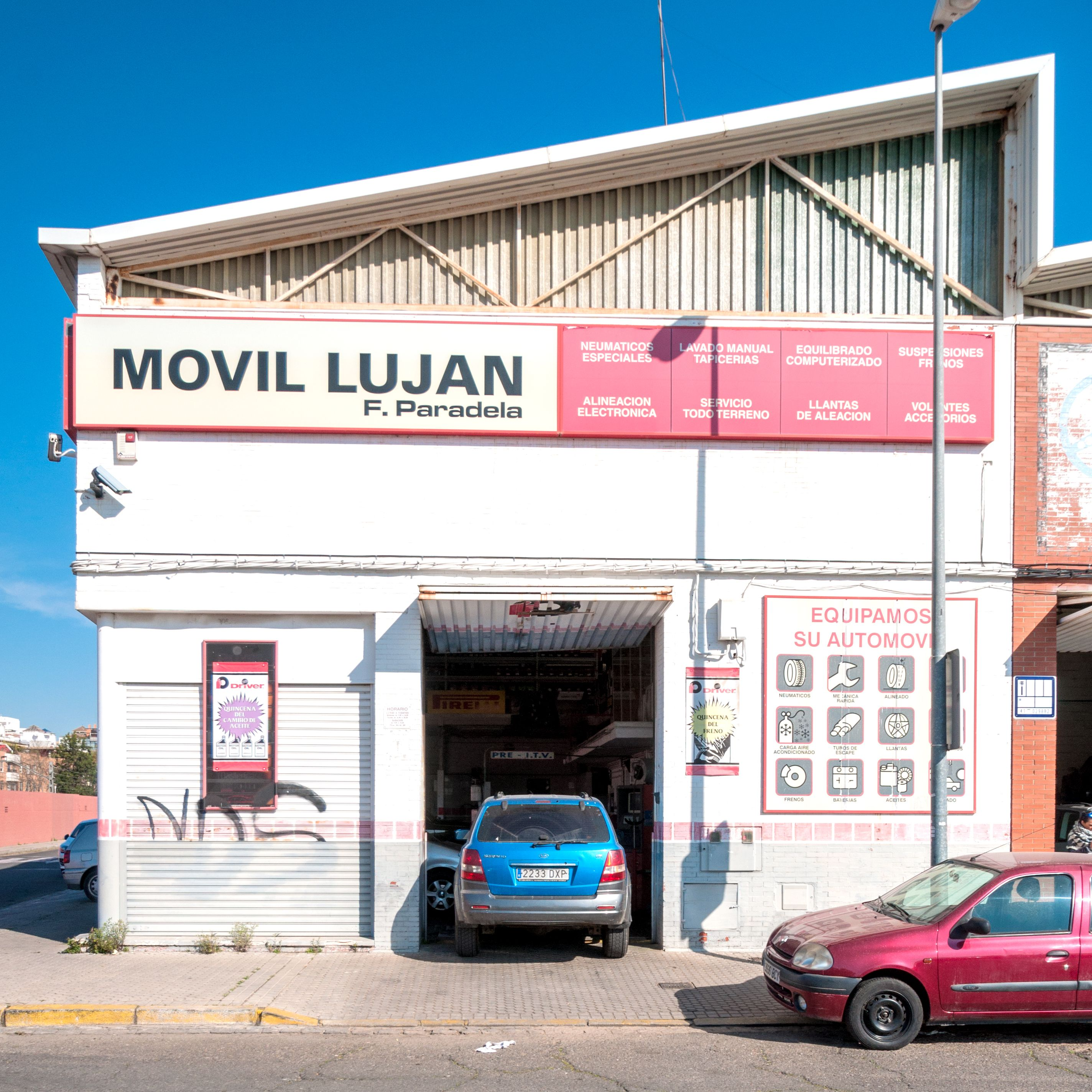Foto 7 de Talleres de automóviles en Sevilla | Móvil Luján