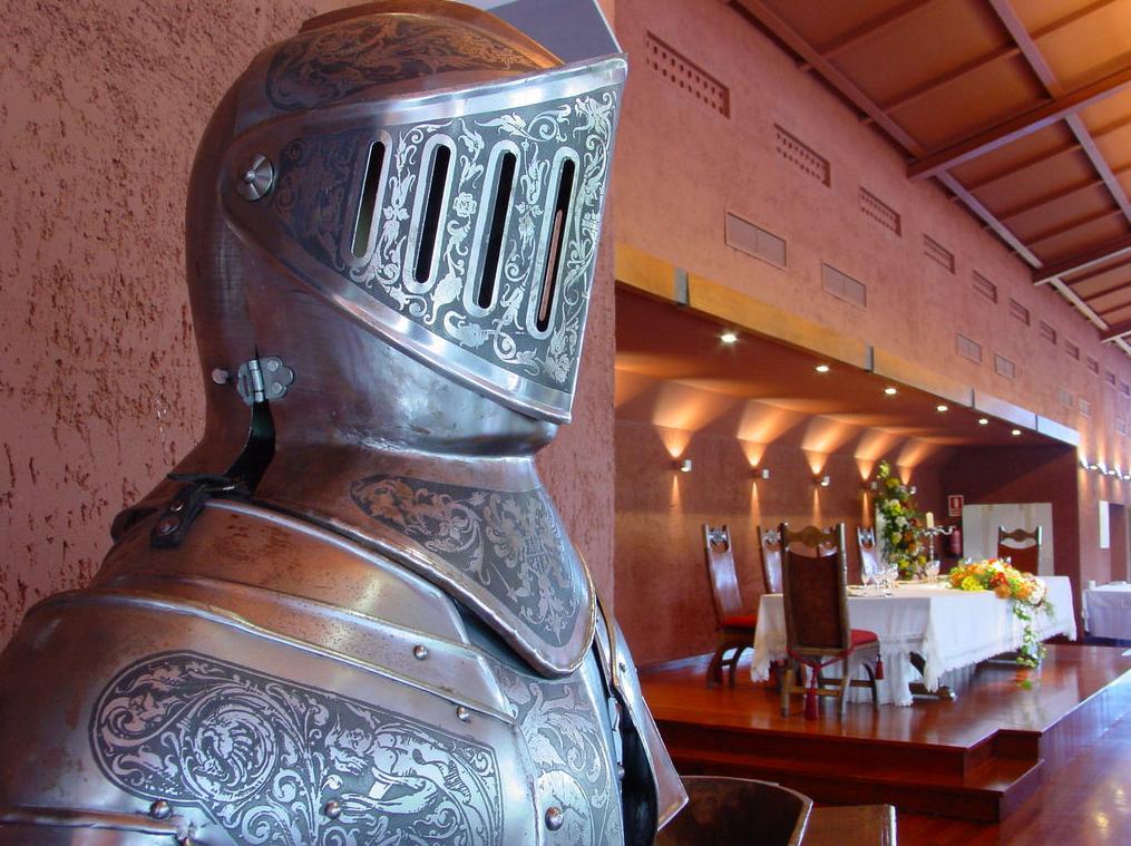 Fusión vanguardista y medieval en el salón de vuestra boda