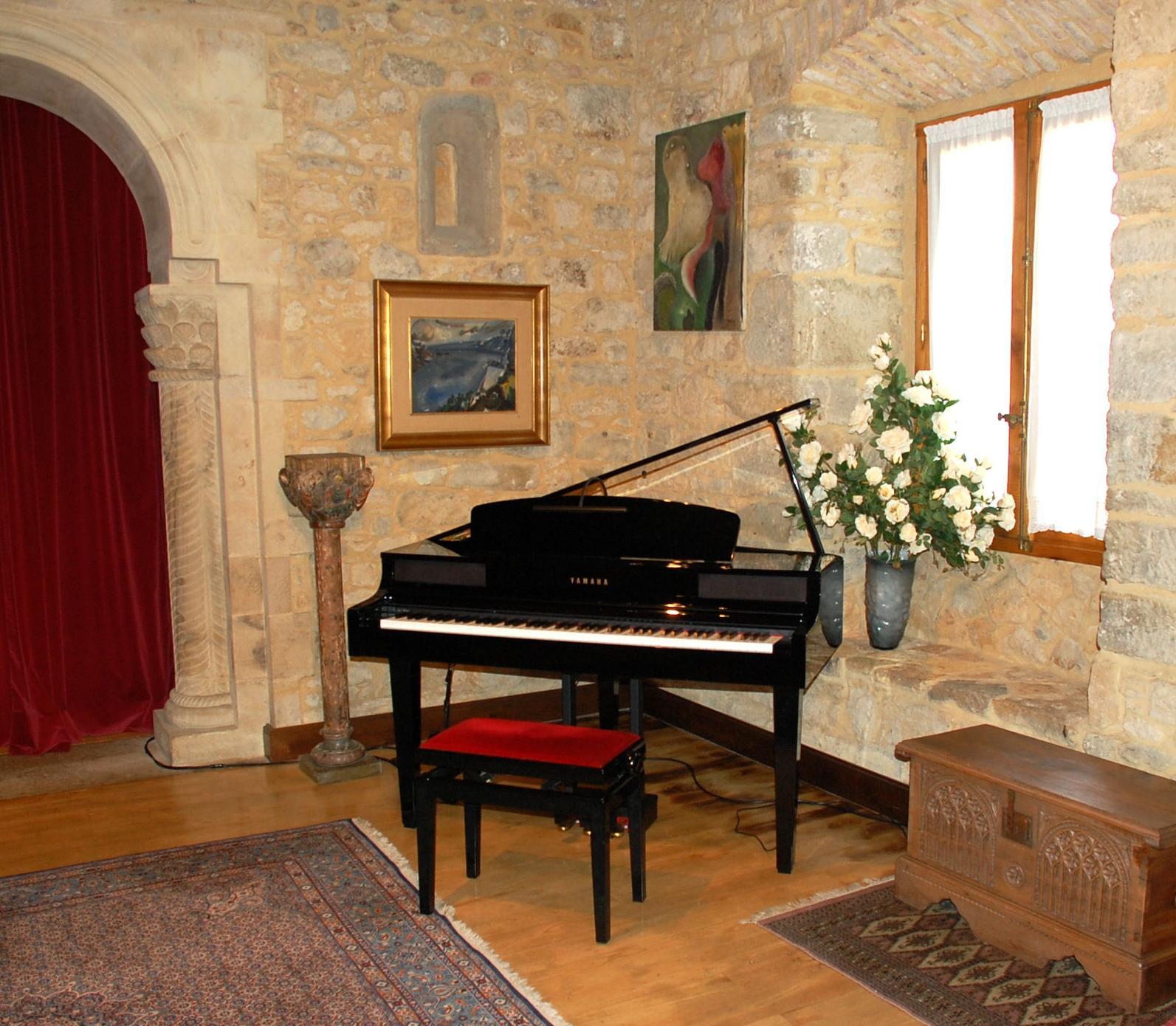 Salón de ceremonias civiles en el interior del Castillo