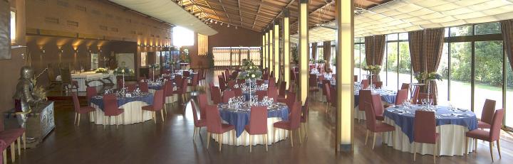 Un espectacular salón exclusivo y diáfano para el día de vuestra boda