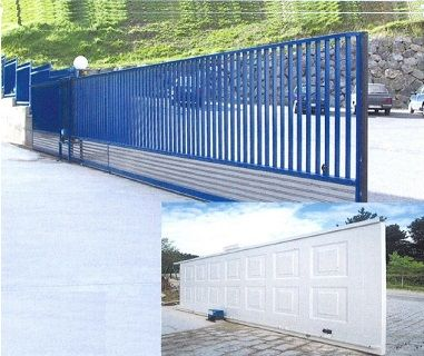 Puertas automáticas y de garaje