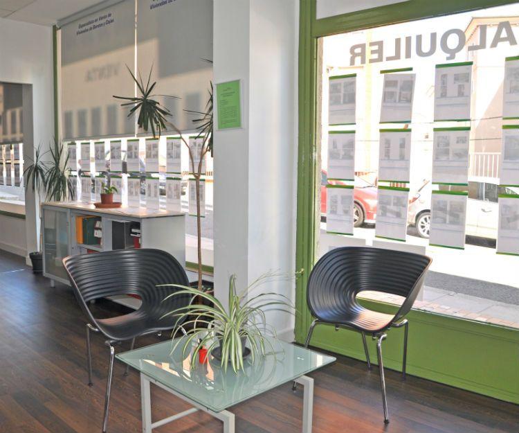 Oficinas de la inmobiliaria en Ávila
