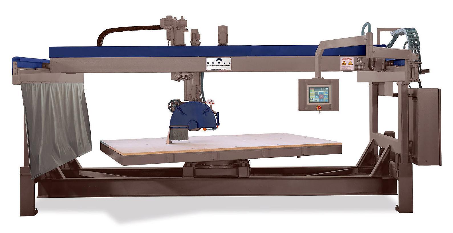 Maquinaria moderna y de precisión