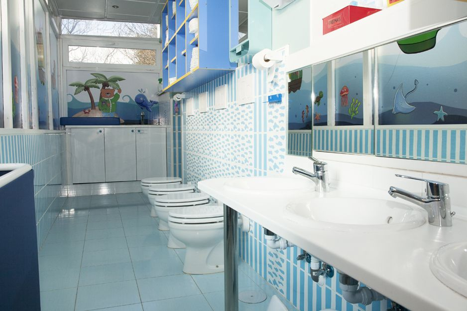 Baños adaptados para los pequeños