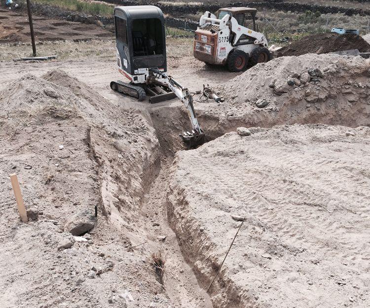 Excavaciones en Tenerife