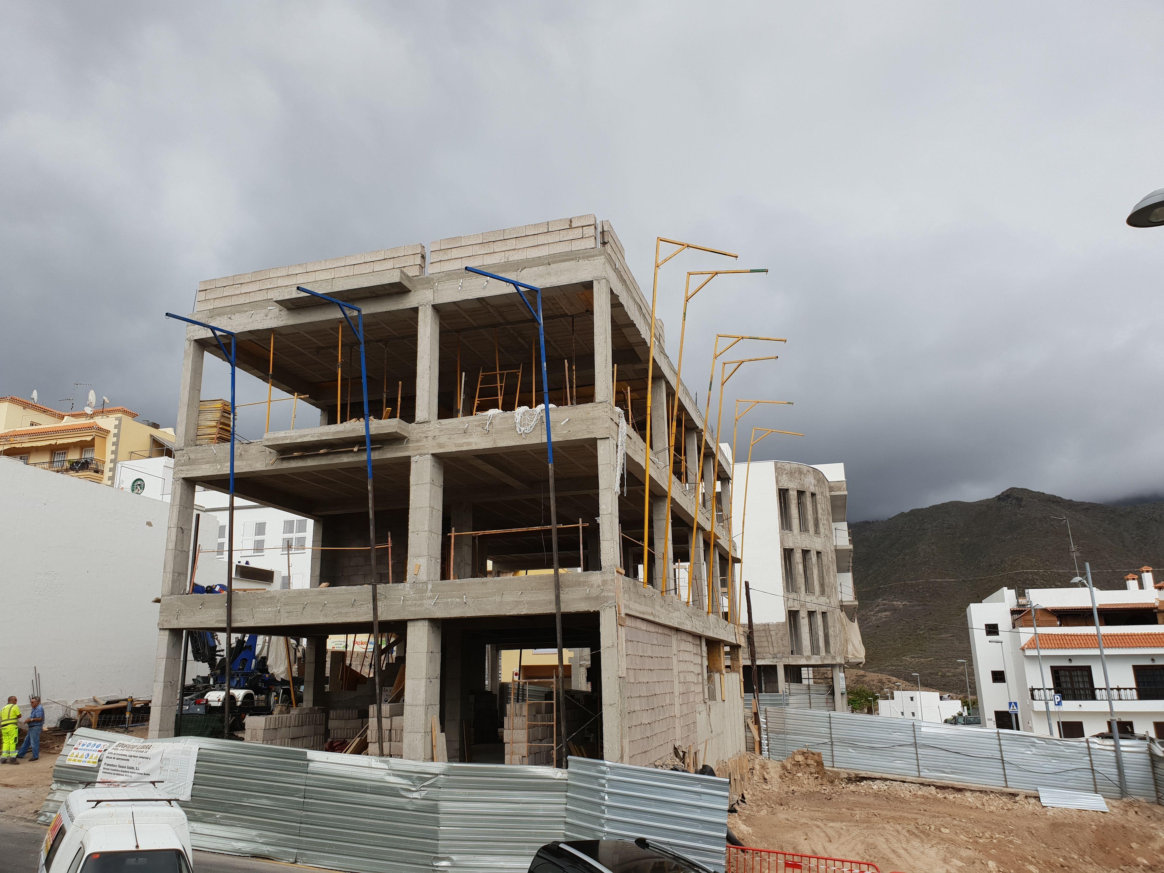 Proyectos de obra nueva en Tenerife