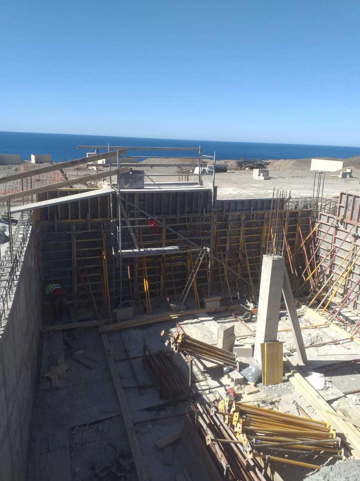 Construcción de 4 viviendas en Campo de Tiro Fuerteventura