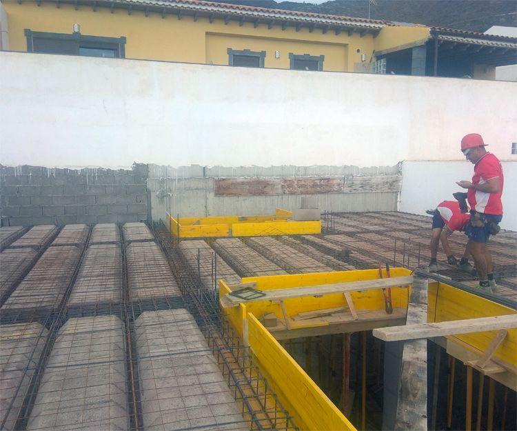 Segundo techo obra Los Olivos