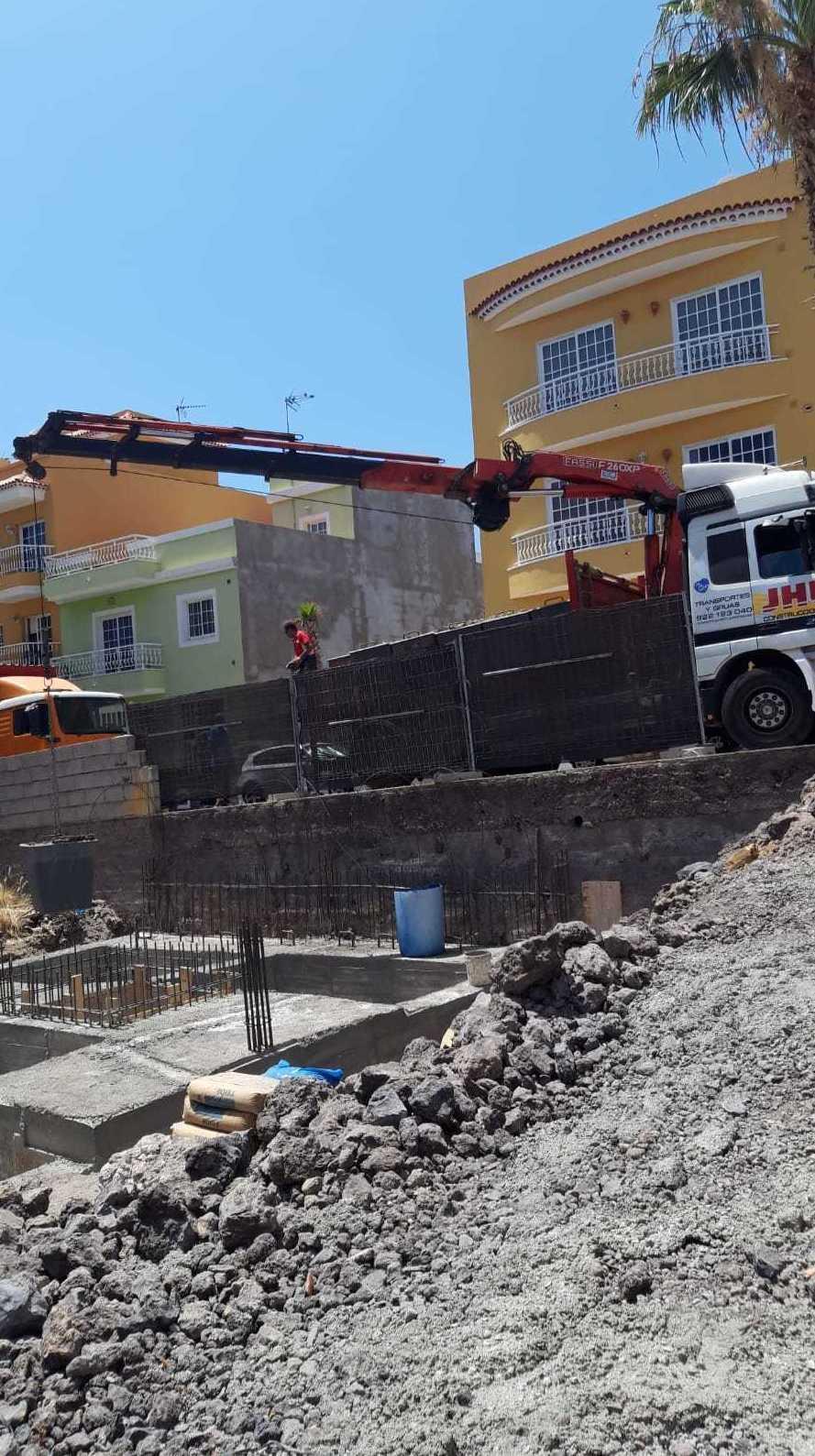 Obra Playa San Juan