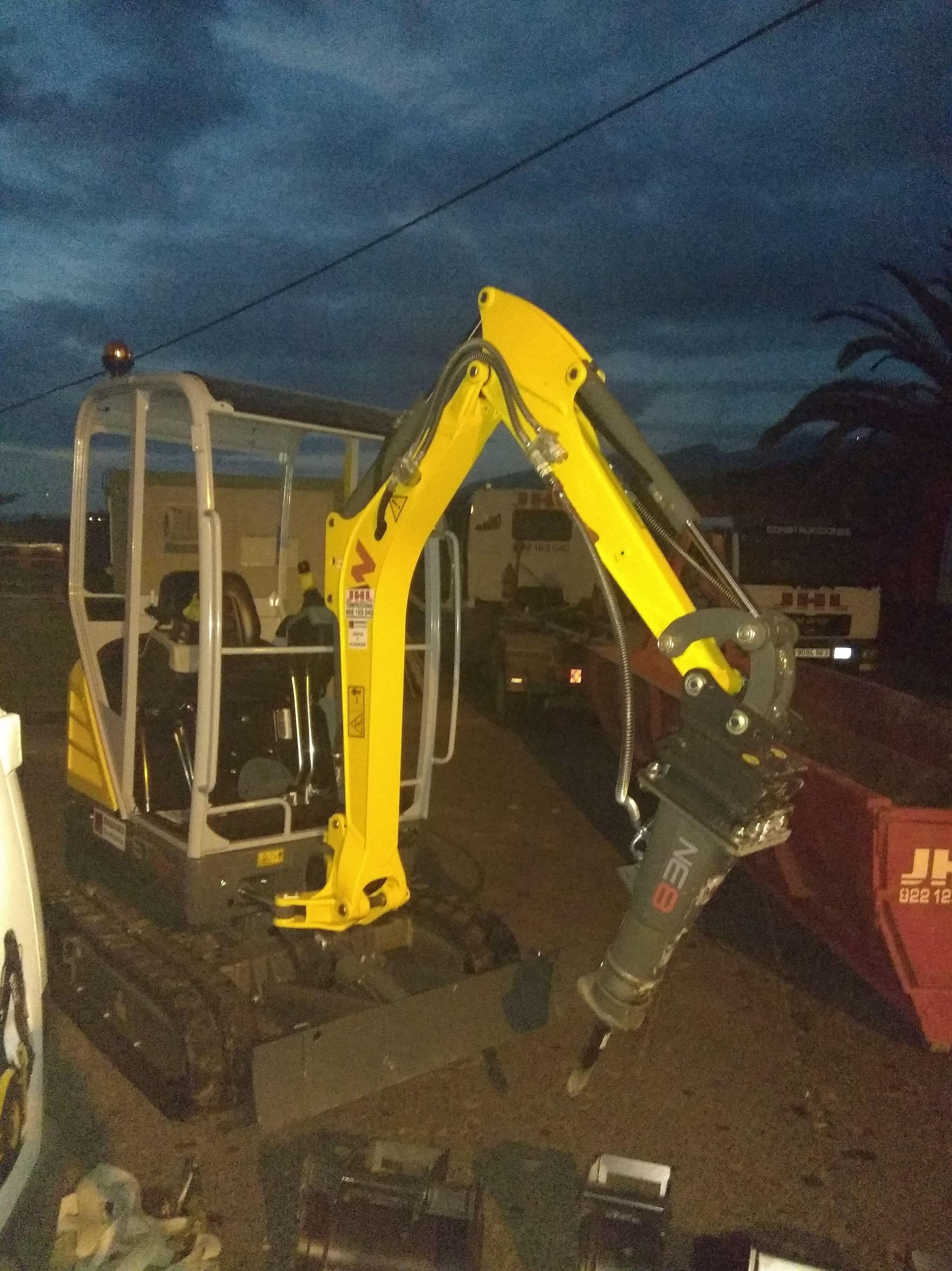 Nueva mini excavadora