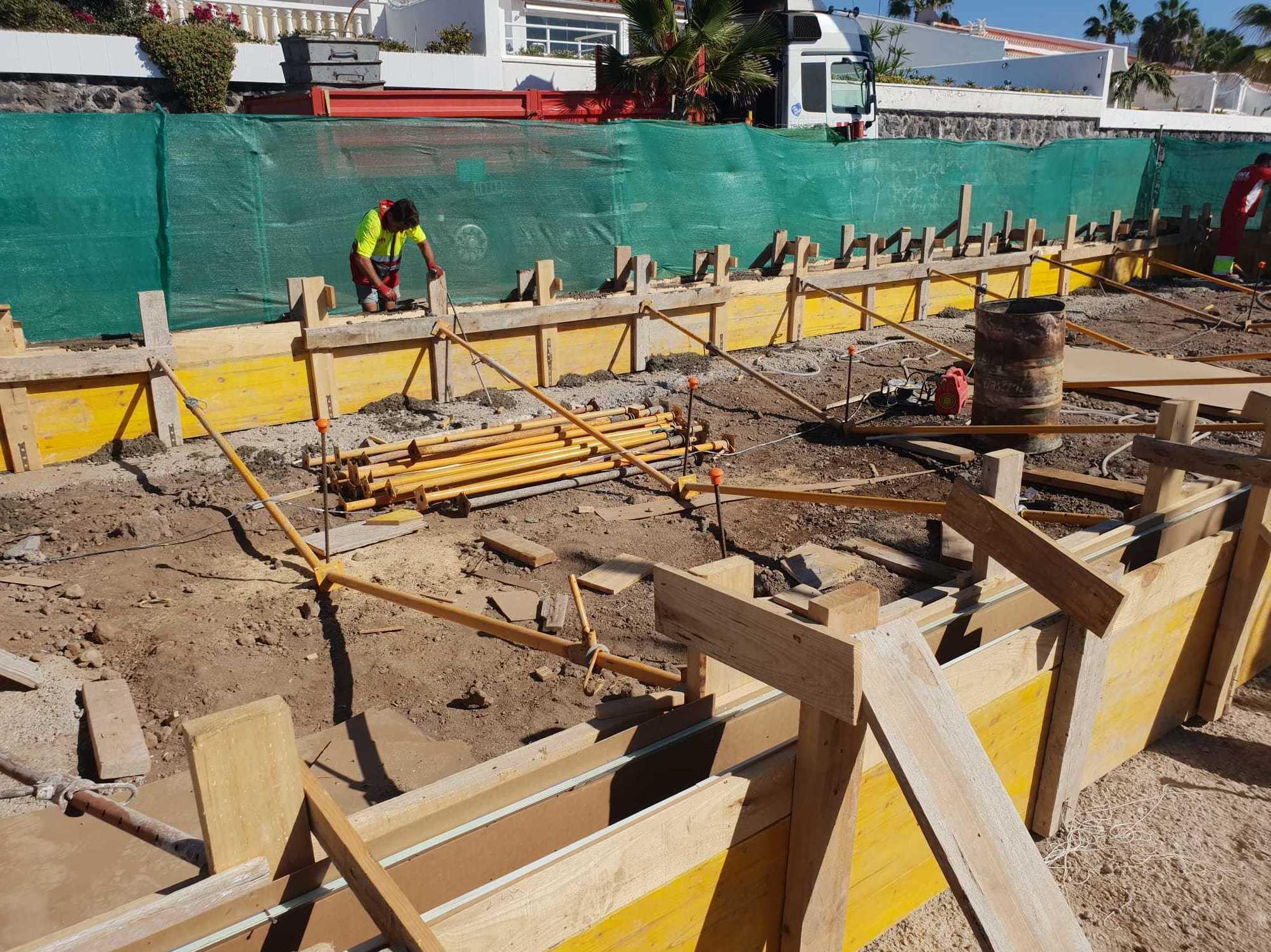 Nueva obra en Playa San Juan